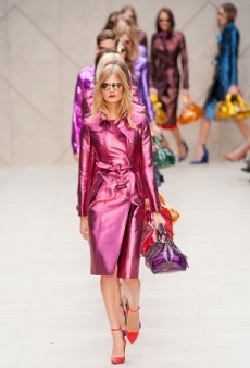 Summer Trend: Burberry Prorsum-Inspired Metallic Handbags