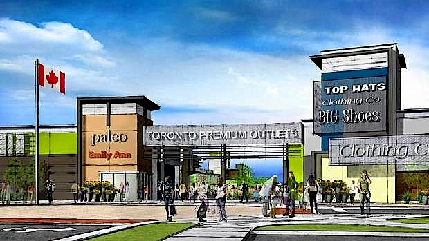 Toronto Premium Outlets Grand Opening On August 1
