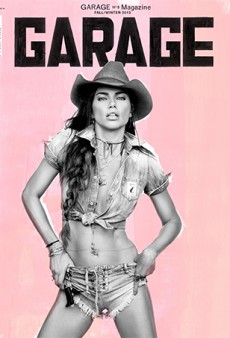 Inez & Vinoodh and John Baldessari Collaborate on Adriana Lima's Garage Magazine Cover