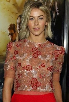 Julianne Hough's Jenny Packham Fall 2013 Embellished Ensemble