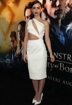 Lily Collins Experiences a White Hot Style Streak and Other Best Dressed Celebs of the Week