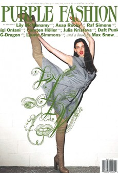 Lily McMenamy by Terry Richardson for Purple Fashion: 'It's As Though She's Farting Green Stuff'