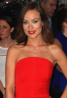 Olivia Wilde's Red Hot Osman Fall 2013 Dress