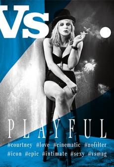 Vs Magazine's Fall Issue Has Four Covers: Courtney Love, Eva Green, Hailey Clauson & Luma Grothe, Jessica Stam [First Look]