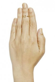 The Latest Jewel Trend: First-Knuckle Rings