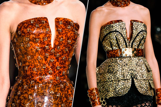 Alexander McQueen Spring 2013, image: IMAXtree