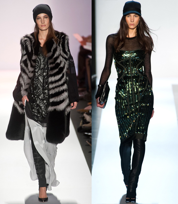 BCBGMAXAZRIA, Herve Leger by Max Azria, Fall 2013 - images: imaxtree