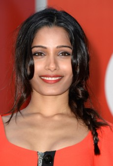 Transition to Fall with Freida Pinto's Burnt Orange Lip