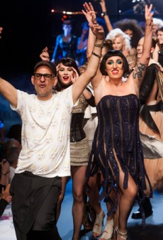 Jean Paul Gaultier Spring 2014: Coco Rocha Does Grease