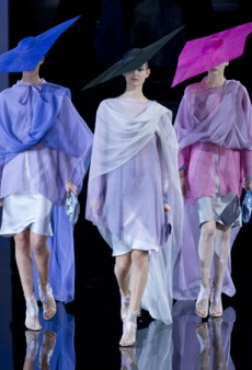 Giorgio Armani Spring 2014: Never Boring, Always Sophisticated