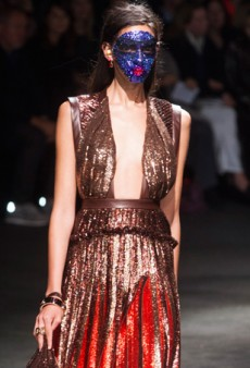 Givenchy Spring 2014: Tisci Goes Tribal