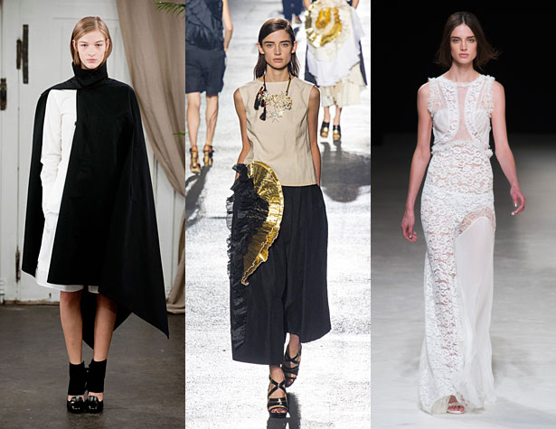 The Hits: Christophe Lemaire, Dries Van Noten, Nina Ricci. Images via IMAXtree