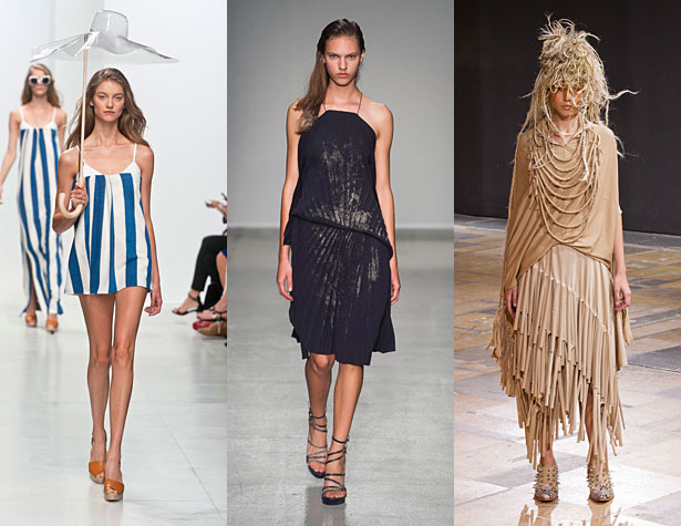 The Hits: Chalayan, A.F. Vandevorst, Junya Watanabe. Images via IMAXtree