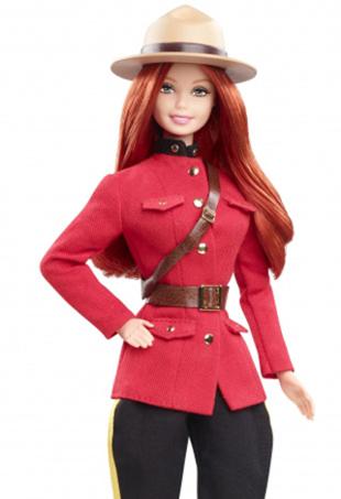RCMP Barbie Port Thumb