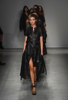 A.F. Vandevorst Spring 2014: Dark and Dirty