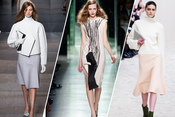 Proenza Schouler, Bottega Veneta, Celine Ready to Wear Fall 2013; images: imaxtree