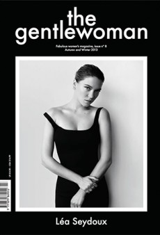 Another Léa Seydoux Cover: The Gentlewoman Fall 2013