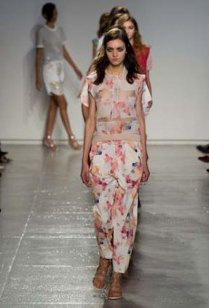Rebecca Taylor Spring 2014: A Harmonious Mix of Uptown and Downtown