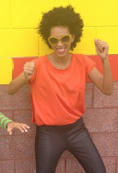 Solange Gets Crunk and Other Celeb Twitpics of the Week