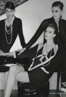 Ashleigh Good, Nadja Bender and Dalianah Arekion Star In Chanel's Cruise Campaign (Forum Buzz)
