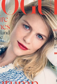 Claire Danes Finally Gets the Stunning Vogue (UK) Cover She Deserves