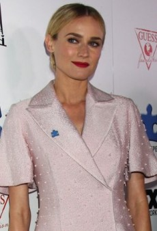 Diane Kruger Skips Jeans in Favor of Emilia Wickstead's Jamie Dress at the Blue Jean Ball