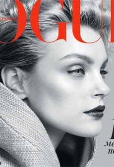 Another Beautiful Cover from Vogue Ukraine, with Jessica Stam