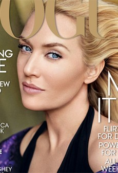 Hark! Here We Speak of Kate Winslet's Turn on the Cover of Vogue