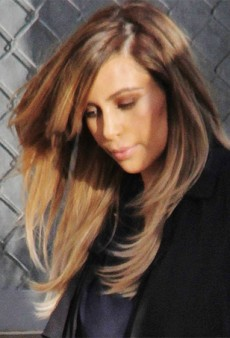 Kim Kardashian is Even Blonder Than She's Ever Been Blonde Before