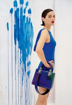 Marion Cotillard Returns as the Face of Lady Dior, Photographed by Tim Walker