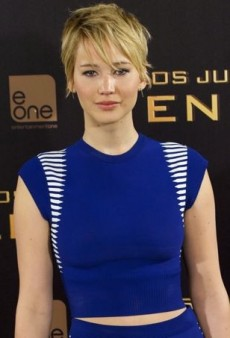 Jennifer Lawrence Temporarily Takes a Break from Christian Dior in Alexander McQueen