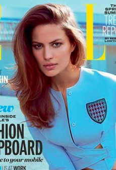 Link Buzz: Cameron Russell for Elle UK; Fashion Trends Fashion People Fell For