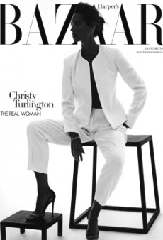 Christy Turlington is 90s Perfection on UK Harper's Bazaar January 2014 (Forum Buzz)