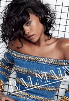Balmain's New Campaign (Starring Rihanna) Looks a Lot Like Balenciaga's Fall 2011 Ads