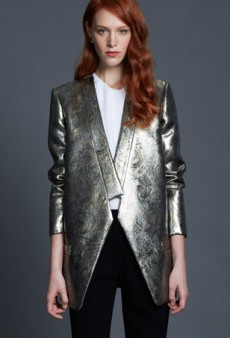 Liquid Assets: Holiday-Ready Metallics to Wear All Winter