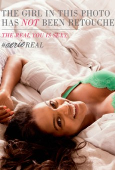 Aerie Debuts Airbrush-Free Lingerie Ads