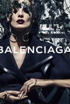 Balenciaga Runway Exclusive Daria Werbowy Stars in Spring 2014 Campaign