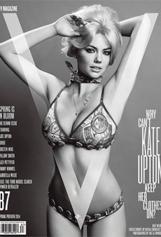 V Magazine Promises to Answer the Question: 'Why Can't Kate Upton Keep Her Clothes On?'