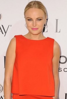 Malin Akerman Brings a Brilliant Pop of Color to ELLE's Annual Celebration in Osman