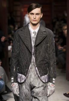 The Best of Milan Men's Fashion Week Fall 2014: Gucci, Versace, Calvin Klein, Moncler Gamme Bleu, Prada