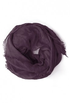 Fashionably Benevolent: Obakki Oxblood Scarf