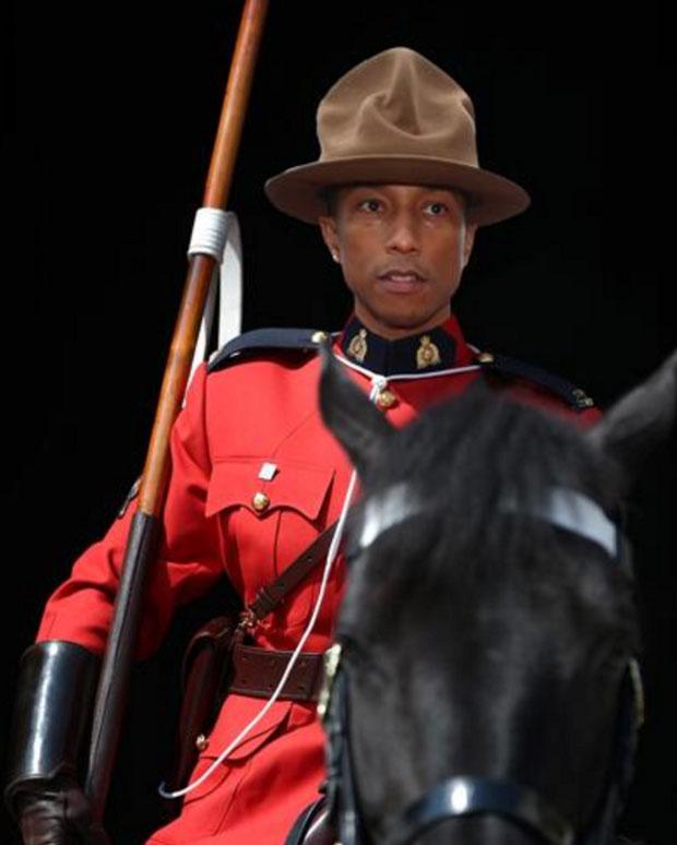 Pharrell Mountie Meme