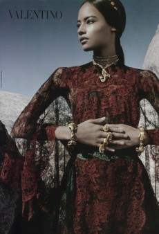 Malaika Firth Scores the Valentino Campaign! (Forum Buzz)
