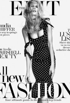 Claudia Schiffer is 'Super Sexy in Spring's Hottest Pieces' for The Edit by Net-a-Porter
