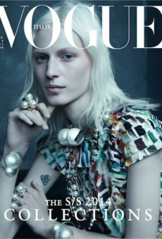 Julia Nobis' Vogue Italia Cover Looks Like the Louis Vuitton Spring 2014 Campaign