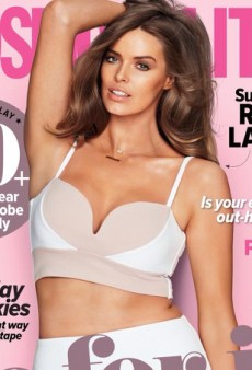 Robyn Lawley Covers Cosmopolitan Australia's March 2014 Issue
