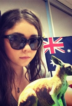 Sarah Hyland's Australia Shout Out and Other Celeb Twitpics of the Week