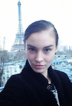 #ModelStalking: Eiffel Tower Selfies and Journaling — What Really Happens Backstage at #PFW