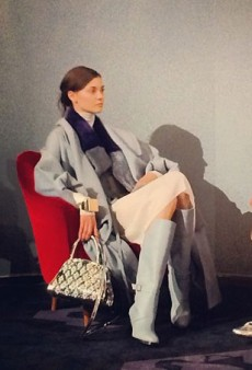 Alexa Chung Judges, Models Take a Load Off — and More Fashion Tweets from #MFW