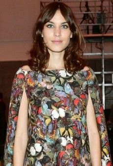 Alexa Chung Serves as a Caped Crusader for Emerging Designers in Valentino